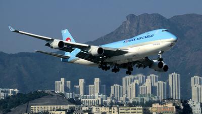 HL7497 - Boeing 747-4B5F(SCD) - Korean Air Cargo