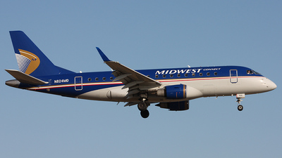 N824MD - Embraer 170-100SU - Midwest Connect (Republic Airlines)