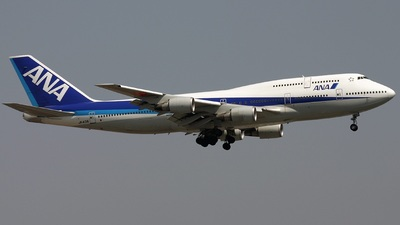 JA401A - Boeing 747-481D - All Nippon Airways (ANA)
