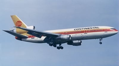 N14062 - McDonnell Douglas DC-10-30 - Continental Airlines