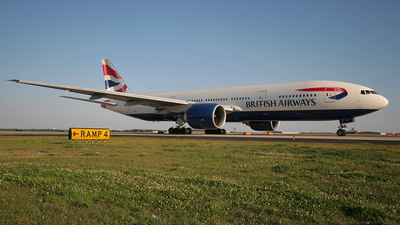 G-VIIP - Boeing 777-236(ER) - British Airways