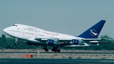 YK-AHB - Boeing 747SP-94 - Syrianair - Syrian Arab Airlines