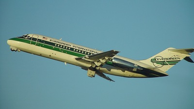 N916F - McDonnell Douglas DC-9-15(F) - Evergreen International Airlines