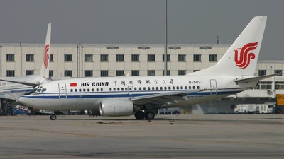 B-5027 - Boeing 737-66N - Air China