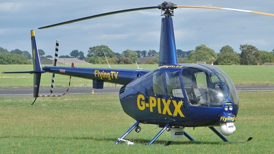 G-PIXX - Robinson R44 Raven II Newscopter - Private