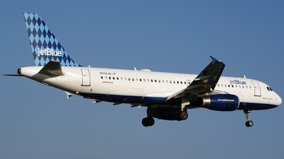 N504JB - Airbus A320-232 - jetBlue Airways