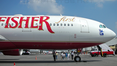 VT-VJN - Airbus A330-223 - Kingfisher Airlines