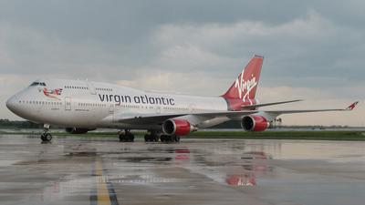 G-VAST - Boeing 747-41R - Virgin Atlantic Airways