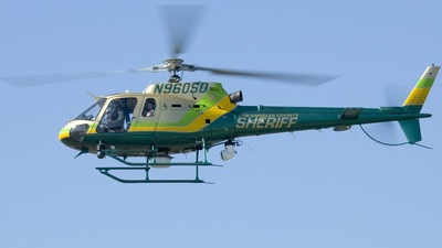 N960SD - Eurocopter AS 350B2 SuperStar - United States - Los Angeles County Sheriff