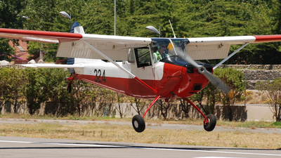 324 - Cessna L-19A Bird Dog - Chile - Air Force