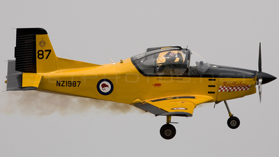 NZ1987 - NZA CT-4E Airtrainer - New Zealand - Royal New Zealand Air Force (RNZAF)