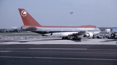 N608US - Boeing 747-151 - Northwest Airlines