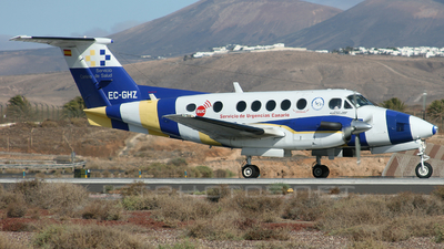 EC-GHZ - Beechcraft B200 Super King Air - Urgemer Canarias