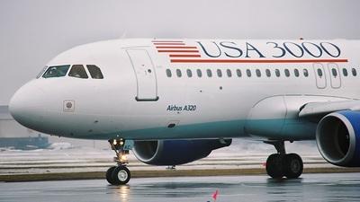 G-BXKC - Airbus A320-214 - USA 3000