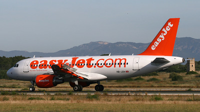HB-JZH - Airbus A319-111 - easyJet Switzerland