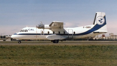F-GBEI - Nord N-262A - Compagne Aerienne du Languedoc (CAL)