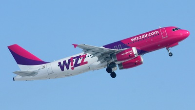 LZ-WZA - Airbus A320-232 - Wizz Air Bulgaria Airlines