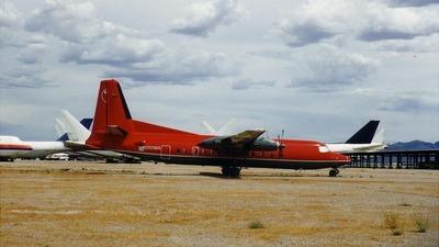 N282MA - Fokker F27-500 Friendship - Unknown