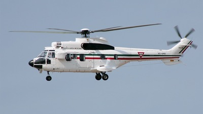 XC-UHU - Aérospatiale AS 332L Super Puma - Mexico - Government