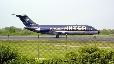 HK-3827X - McDonnell Douglas DC-9-15 - Inter Colombia