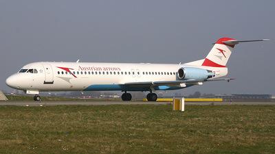 OE-LVL - Fokker 100 - Austrian Arrows