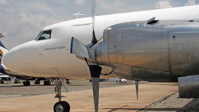 ZS-SKL - Convair CV-580 - Private