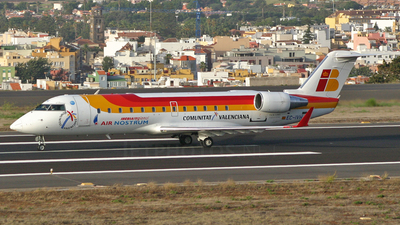 EC-IVH - Bombardier CRJ-200ER - Iberia Regional (Air Nostrum)