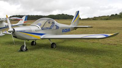 G-CDJR - Evektor EV97 Eurostar - Private