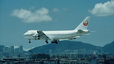 JA8104 - Boeing 747-246B - Japan Airlines (JAL)