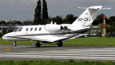 OO-CEJ - Cessna 525 CitationJet 1 - Air Service Liège (ASL)