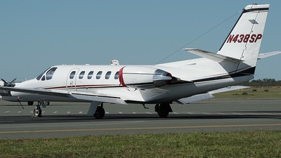 N438SP - Cessna 550B Citation Bravo - Private