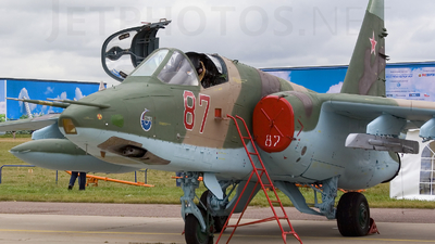 87 - Sukhoi Su-25 Frogfoot - Russia - Air Force