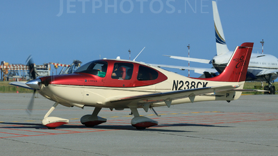 A picture of N238CK - Cirrus SR22 - [3546] - © fede