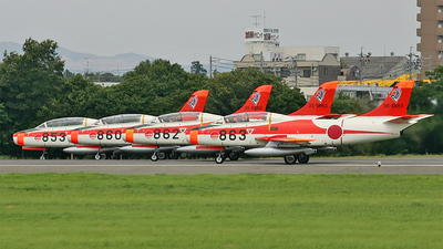 863 - Fuji T-1B - Japan - Air Self Defence Force (JASDF)