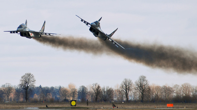 77 - Mikoyan-Gurevich MiG-29A Fulcrum A - Poland - Air Force
