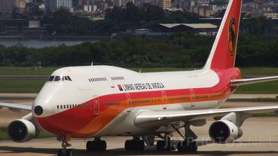 D2-TEA - Boeing 747-312(M) - TAAG Linhas Aéreas de Angola