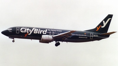 OO-CTV - Boeing 737-46Q - CityBird