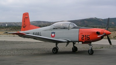 215 - Pilatus PC-7 - Chile - Navy