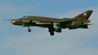 7412 - Sukhoi Su-22M4 Fitter K - Poland - Air Force