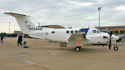 N7166P - Beechcraft B200 Super King Air - United States - US Customs Service