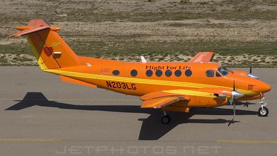 N203LG - Beechcraft B200 Super King Air - Flight for Life