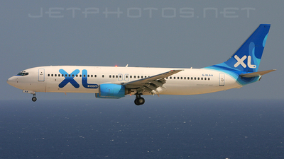 G-XLAA - Boeing 737-8Q8 - XL Airways
