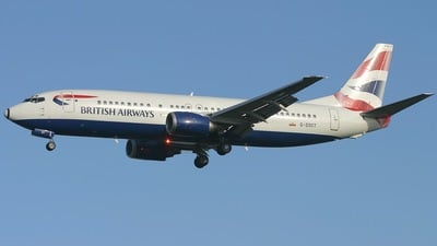 G-DOCT - Boeing 737-436 - British Airways