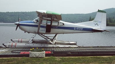 C-FCTF - Cessna A185E Skywagon - Aviation Wheel Air