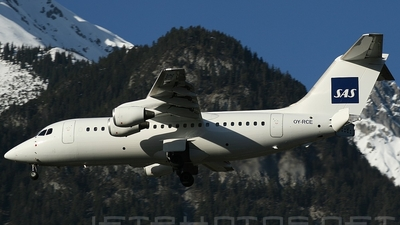 OY-RCE - British Aerospace Avro RJ85 - Scandinavian Airlines (Atlantic Airways)