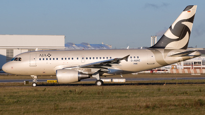 D-AUAE - Airbus A318-112(CJ) Elite - Al Jaber Aviation