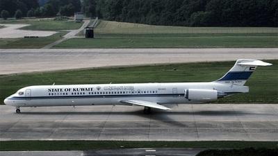 9K-AGC - McDonnell Douglas MD-83 - Kuwait - Government