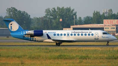 N643BR - Bombardier CRJ-200ER - Independence Air