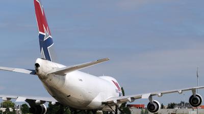 G-MKBA - Boeing 747-2B5F(SCD) - MK Airlines