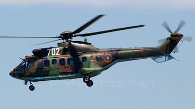 702 - Eurocopter AS 532AL Cougar - Bulgaria - Air Force